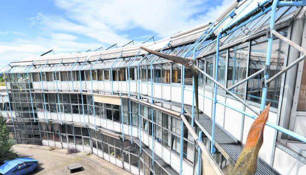 Gebäude der Albert-Schweitzer-Schule