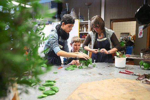 Kinder erstellen Tischgedecke
