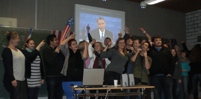 Wahlparty USA 2012