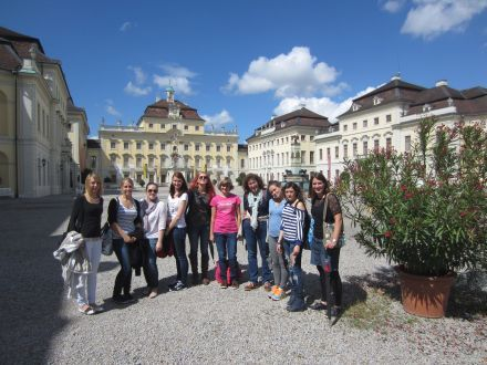 Ausflug der Floristinnen in den Barock