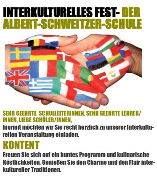 Interkulturelles Fest - Albert-Schweitzer-Schule
