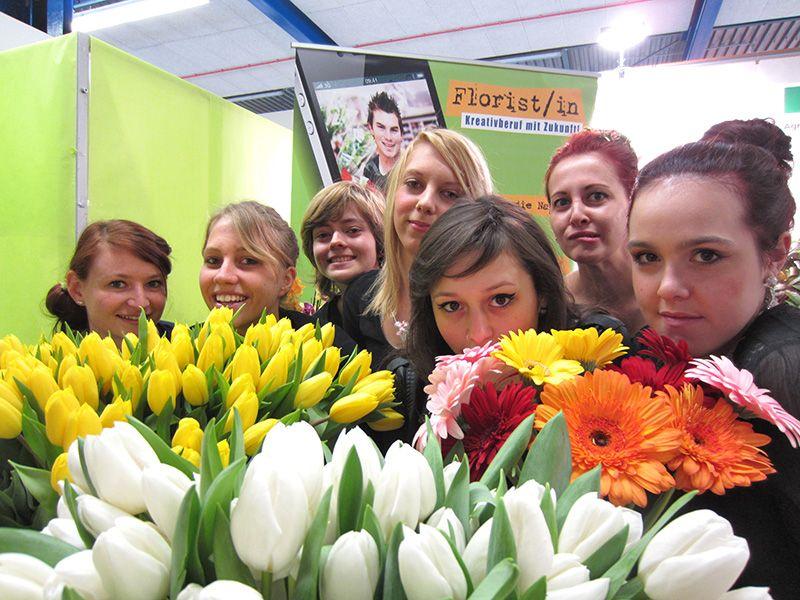 Floristen Gruppenbild