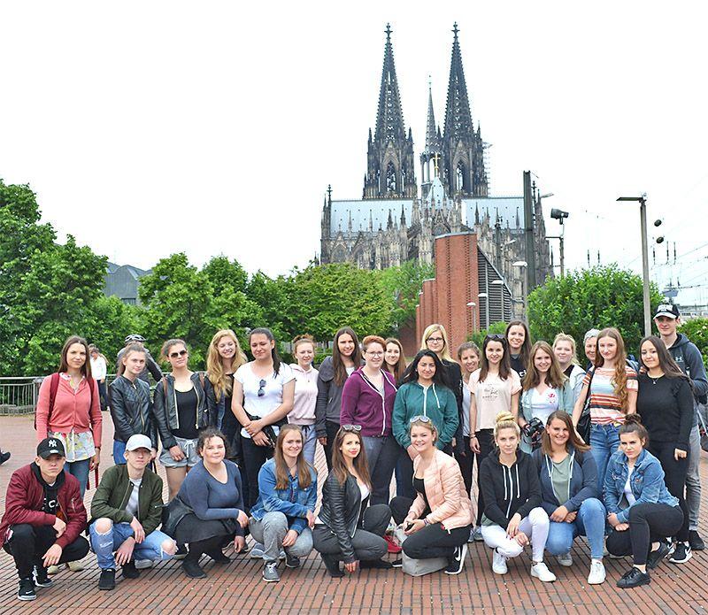 Klassenfahrt nach Köln