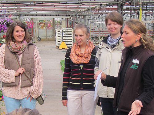 Floristenklasse auf der Reichenau