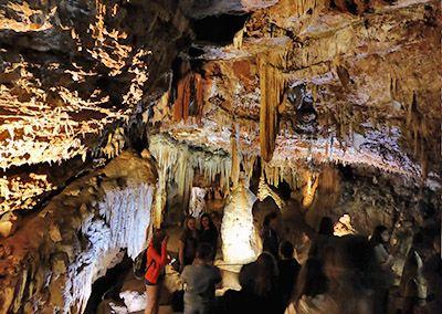 Tropfsteinhöhlen in Porec