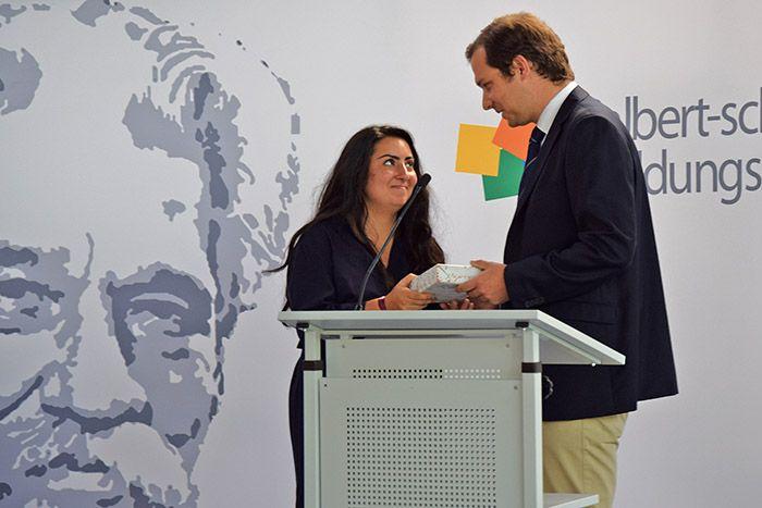 Sozialpreis für Melisa Ünal