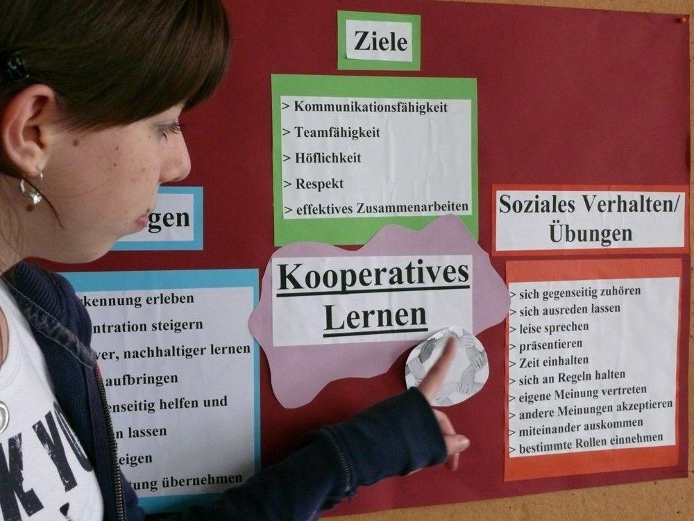 Berufseinstiegsjahr (BEJ) - Kooperatives Lernen