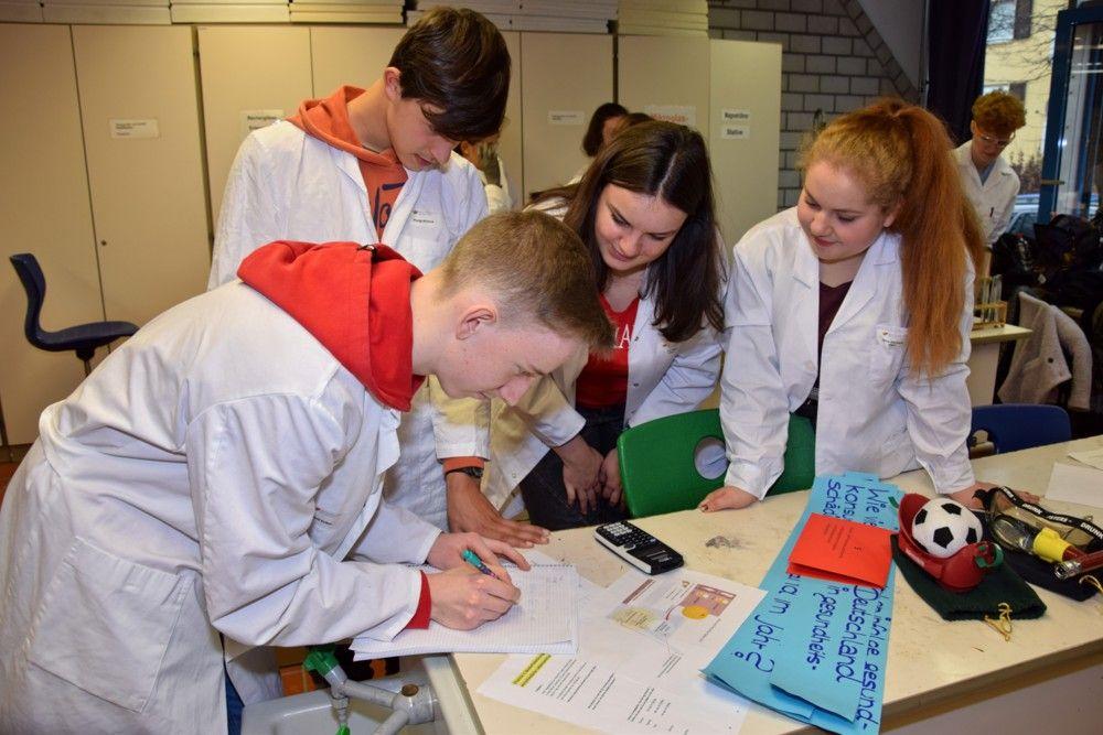 Ernährungswissenschaft (EG) - Gruppenarbeit