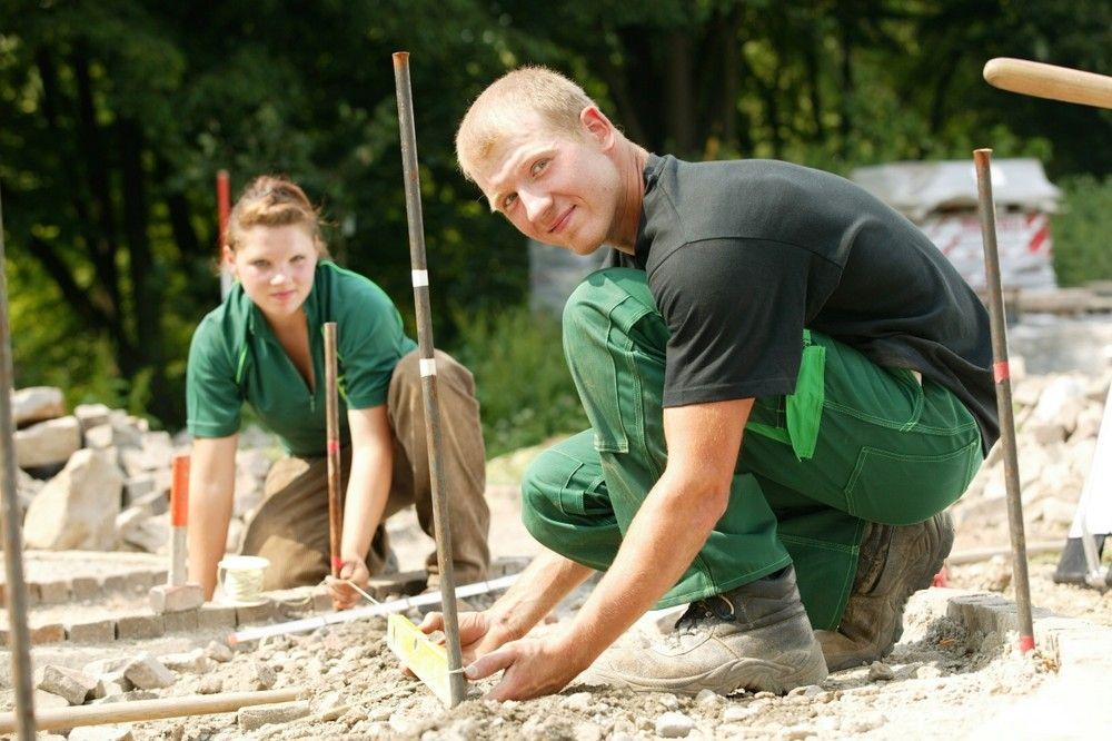Garten- und Landschaftsbauer (GaLaBau) - Auf der Baustelle