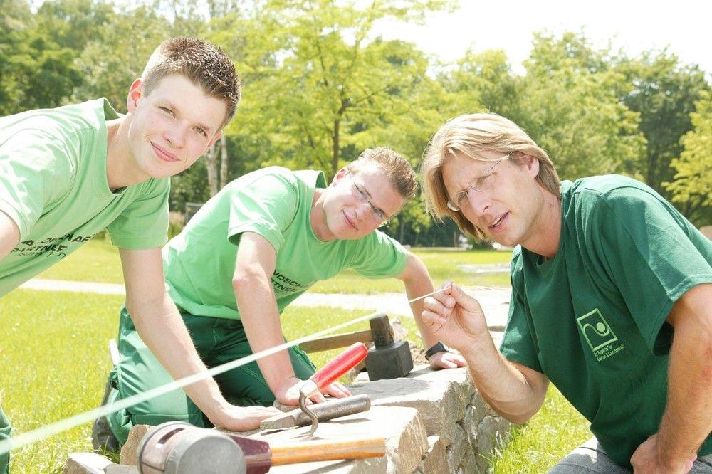 Garten- und Landschaftsbauer (GaLaBau) - praktische Arbeit