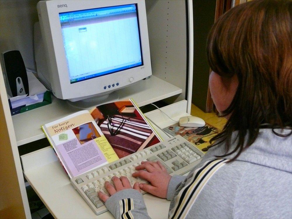 Zweijährige Berufsfachschule Hauswirtschaft und Ernährung (2BFH) - Computerarbeitsplatz